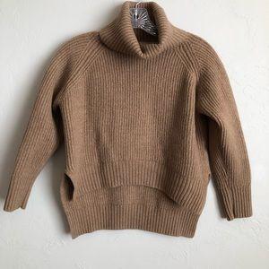 Wilfred Free Vagabond Lin Wool Turtleneck Sweater